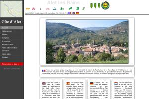 Gite Alet-les-Bains, sites web depannage PC ordinateur formation informatique toulon mourillon