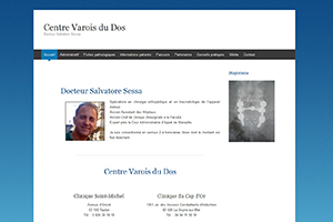Docteur Salvatore Sessa, Centre Varois du Dos, PFS Concept - Dépannage PC Formation domicile informatique Sites web Toulon Mourillon
