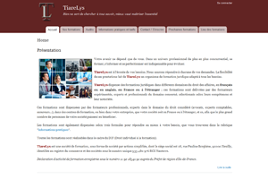 Tiarelys, sites web depannage PC ordinateur formation informatique toulon mourillon