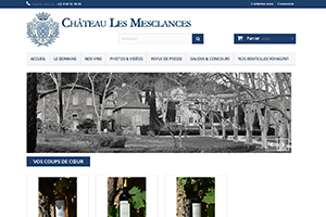 Château Les Mesclances, domaine viticole en provence, PFS Concept - Dépannage PC Formation domicile informatique Sites web Toulon Mourillon