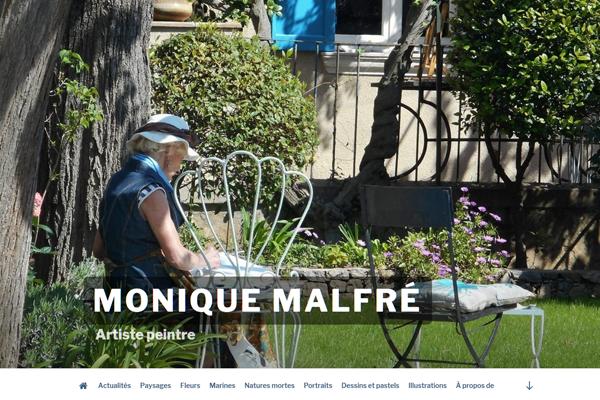 Monique Malfré - Artiste peintre, PFS Concept - Dépannage PC Formation domicile informatique Sites web Toulon Mourillon