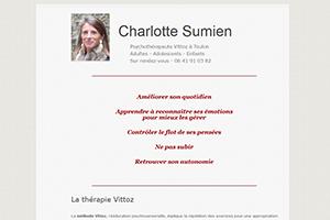 Charlotte Sumien - Psychothérapeute Vittoz Toulon, sites web depannage PC ordinateur formation informatique toulon mourillon