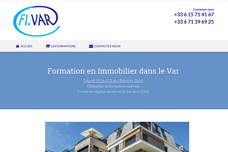 FIVAR, PFS Concept - Dépannage PC Formation domicile informatique Sites web Toulon Mourillon