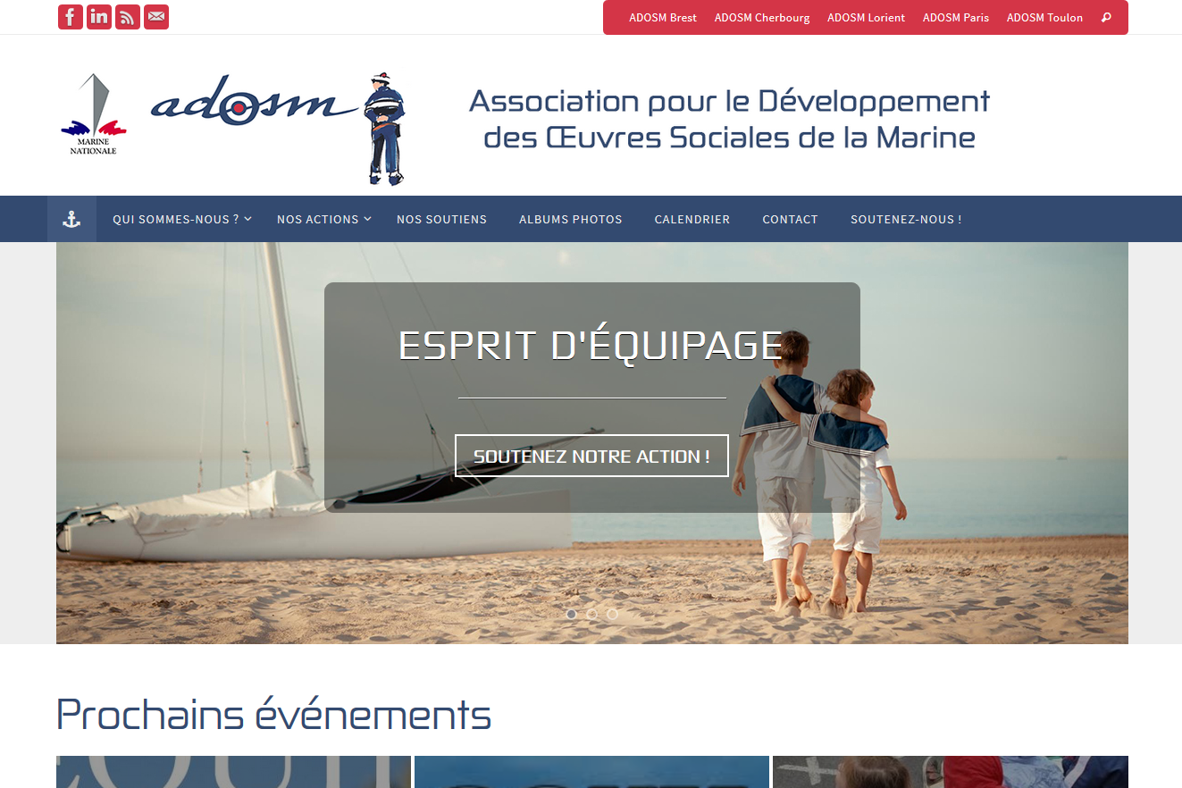 ADOSM, sites web depannage PC ordinateur formation informatique toulon mourillon