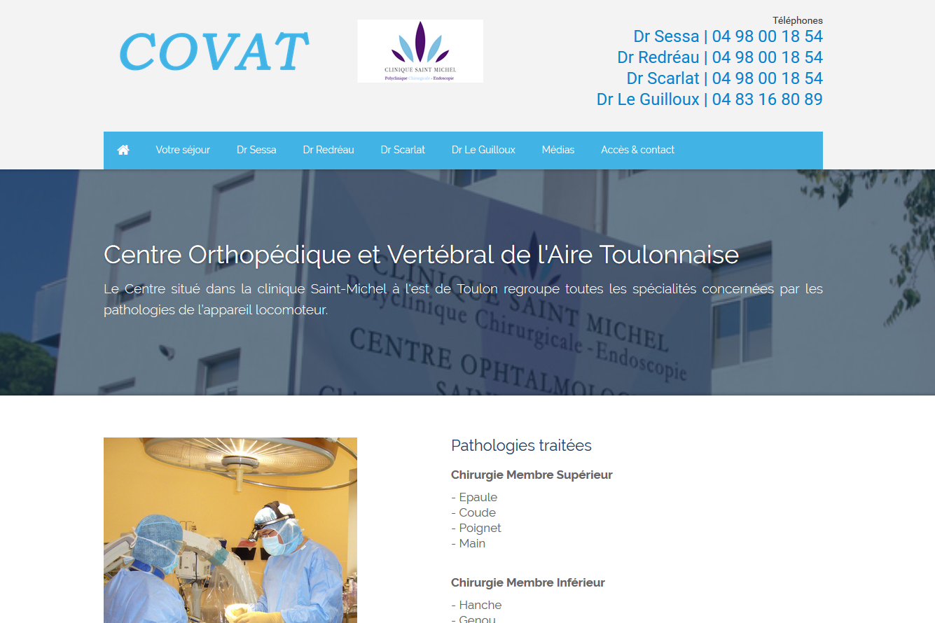 COVAT, PFS Concept - Dépannage PC Formation domicile informatique Sites web Toulon Mourillon