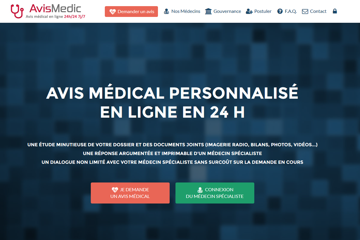 AvisMedic.fr, sites web depannage PC ordinateur formation informatique toulon mourillon