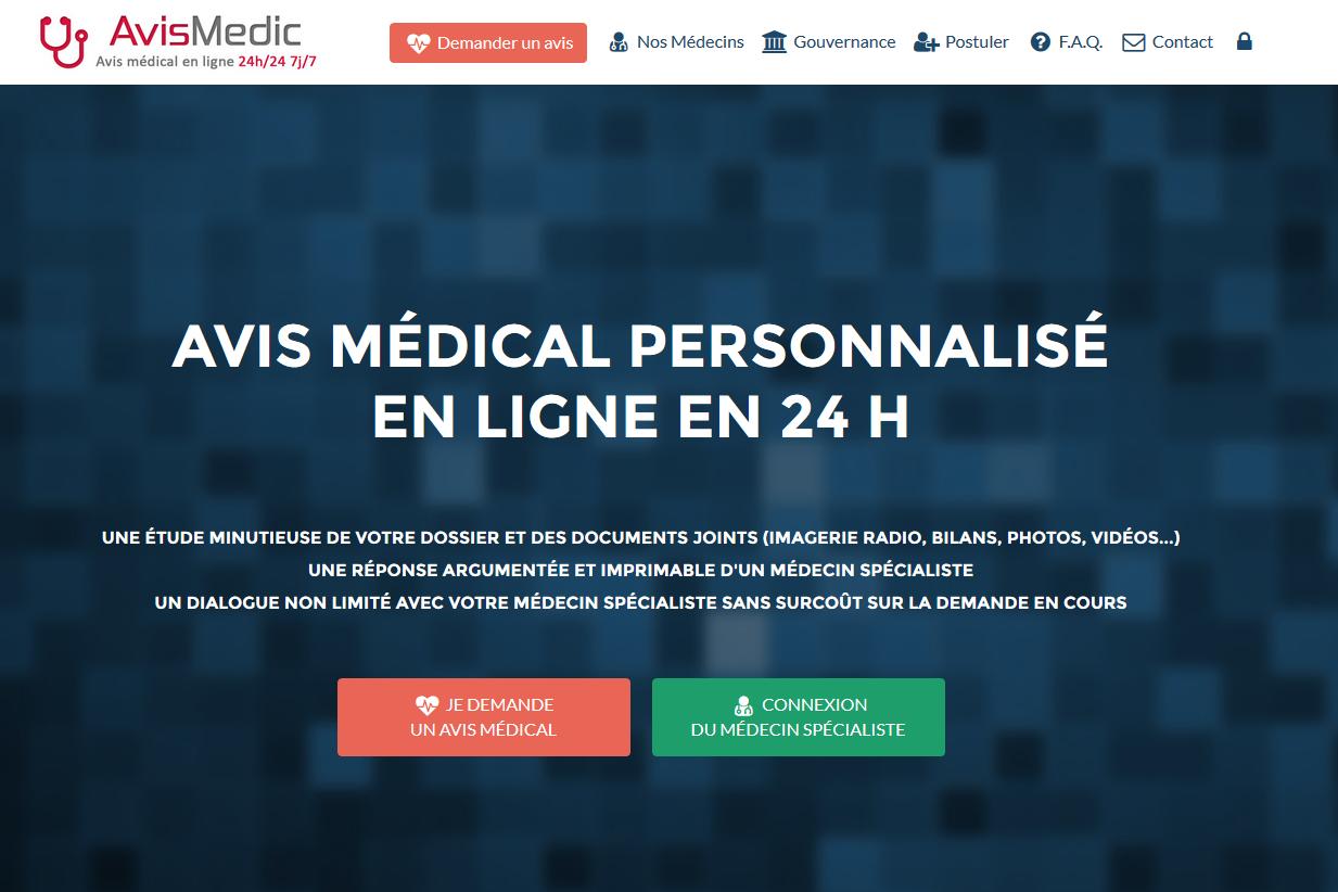 AvisMedic.fr, sites web depannage PC ordinateur formation informatique toulon mourillon