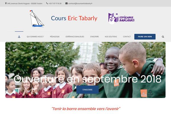 Cours Eric Tabarly - Ecole Espérance Banlieues à Toulon, PFS Concept - Dépannage PC Formation domicile informatique Sites web Toulon Mourillon