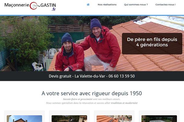 Maçonnerie Gastin, PFS Concept - Dépannage PC Formation domicile informatique Sites web Toulon Mourillon